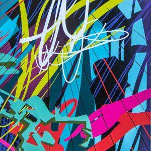 Monika Roscher Bigband - Digitales Muster als LP-Beilage