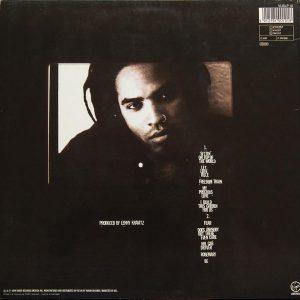 Back Cover Lenny Kravitz - Let Love Rule