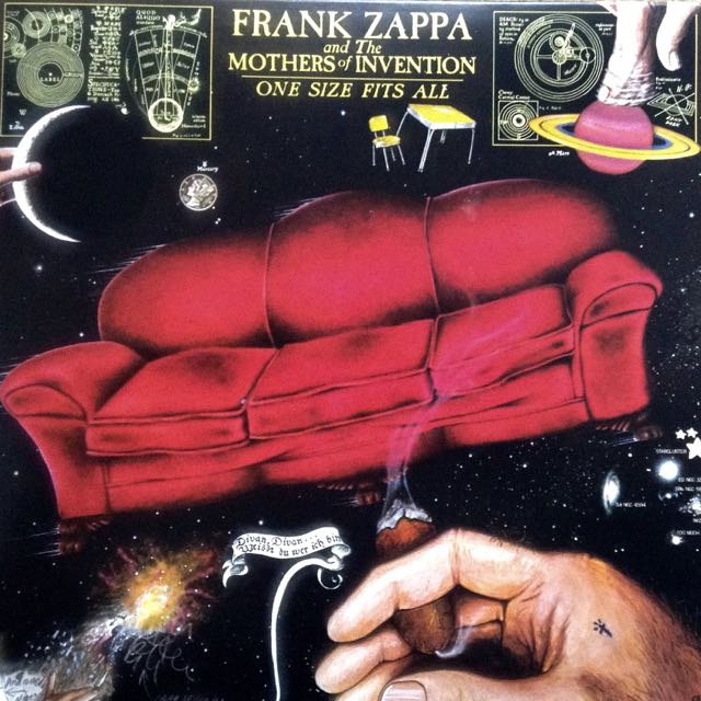Frank Zappa - One Size Fits All Frontcover