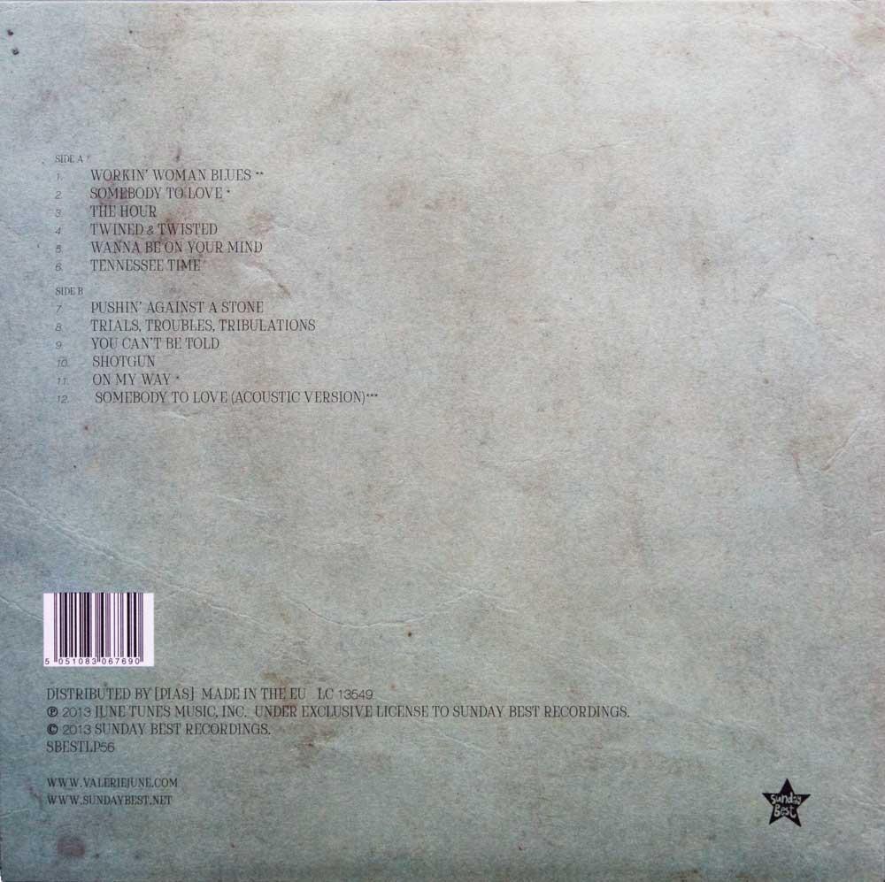 Valerie June - Cover Back