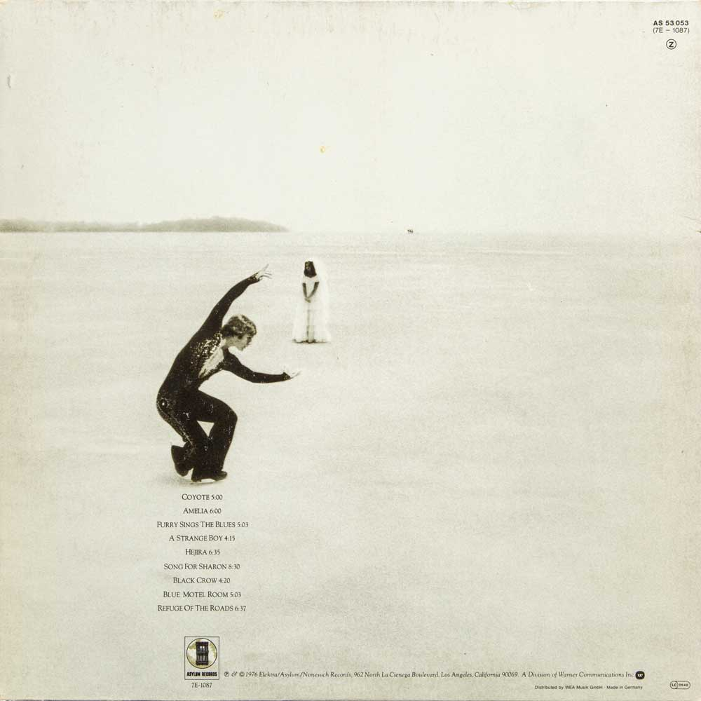 Cover Joni Mitchell Hejira Back