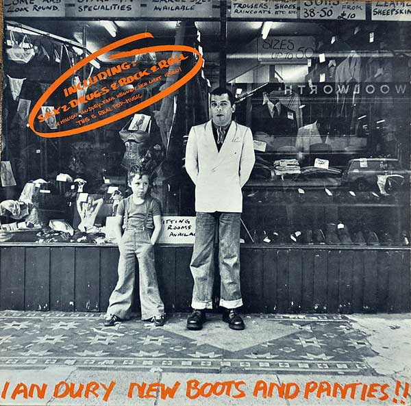 Ian Dury – New Boots And Panties (1977)