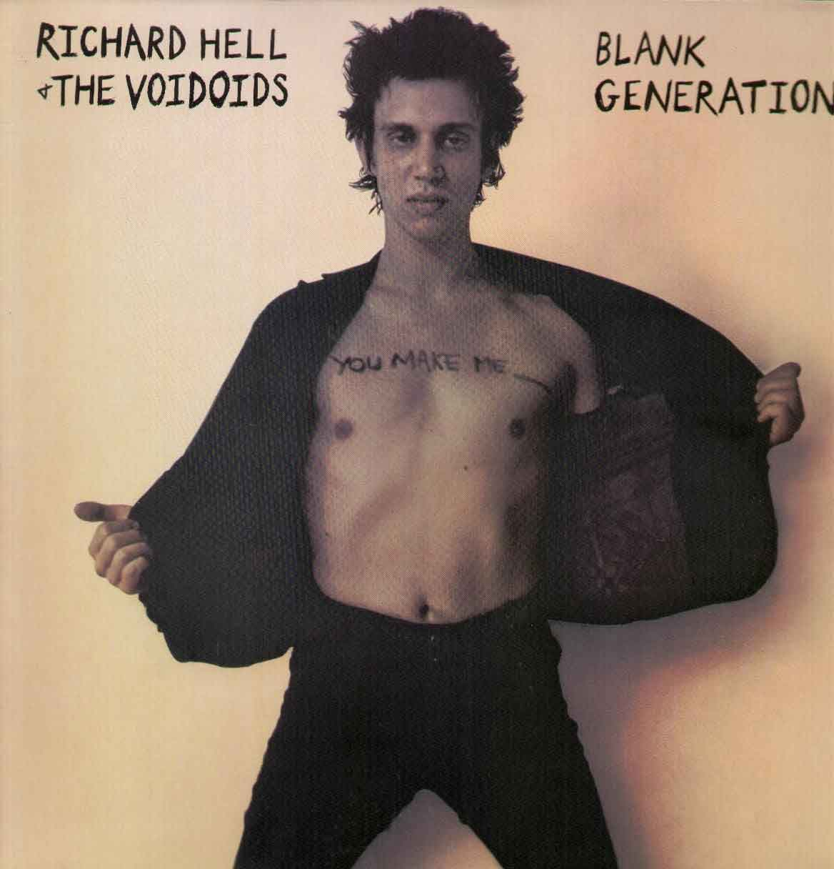 Blank Generation Front Cover