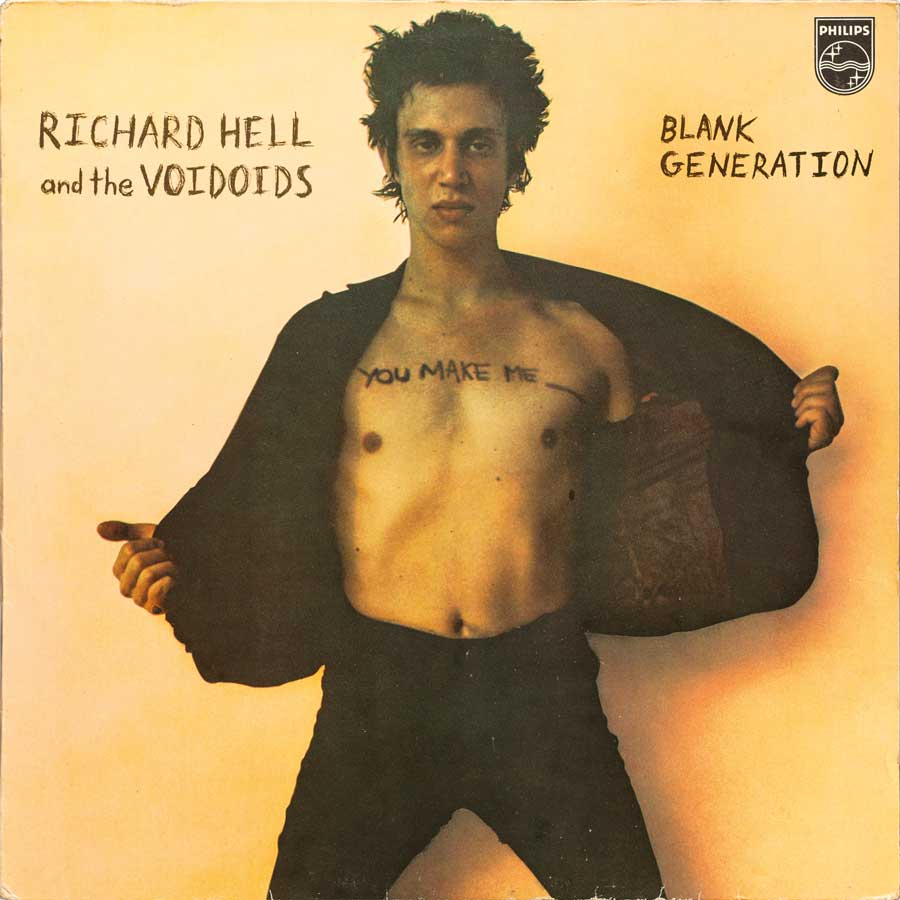 Richard Hell & The Voidoids Blank Generation Frontcover