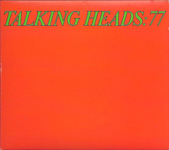 Cover Talking Heads LP 77