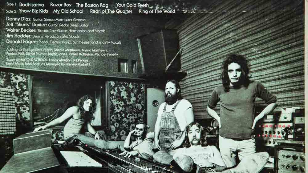 Back-Cover von Steely Dan LP Countdown to Ecstasy