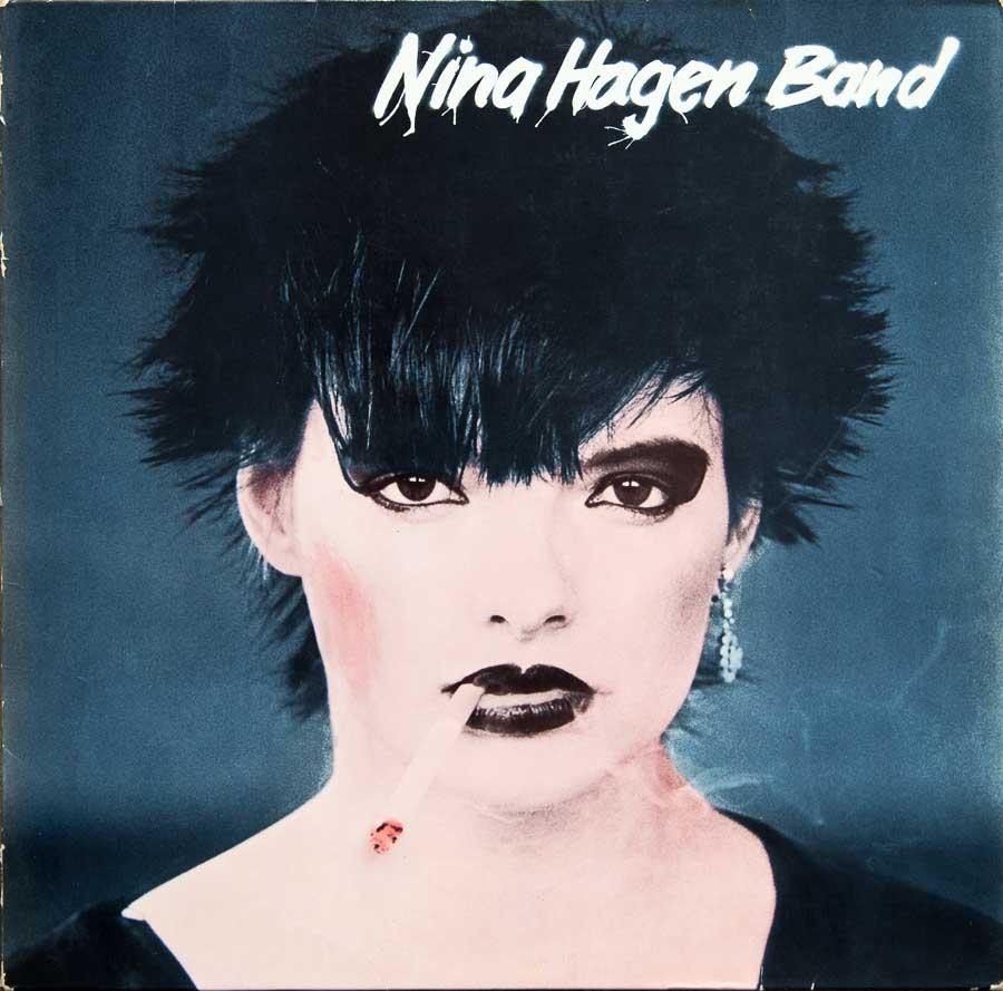 Nina Hagan Band 1978 - Plattencover