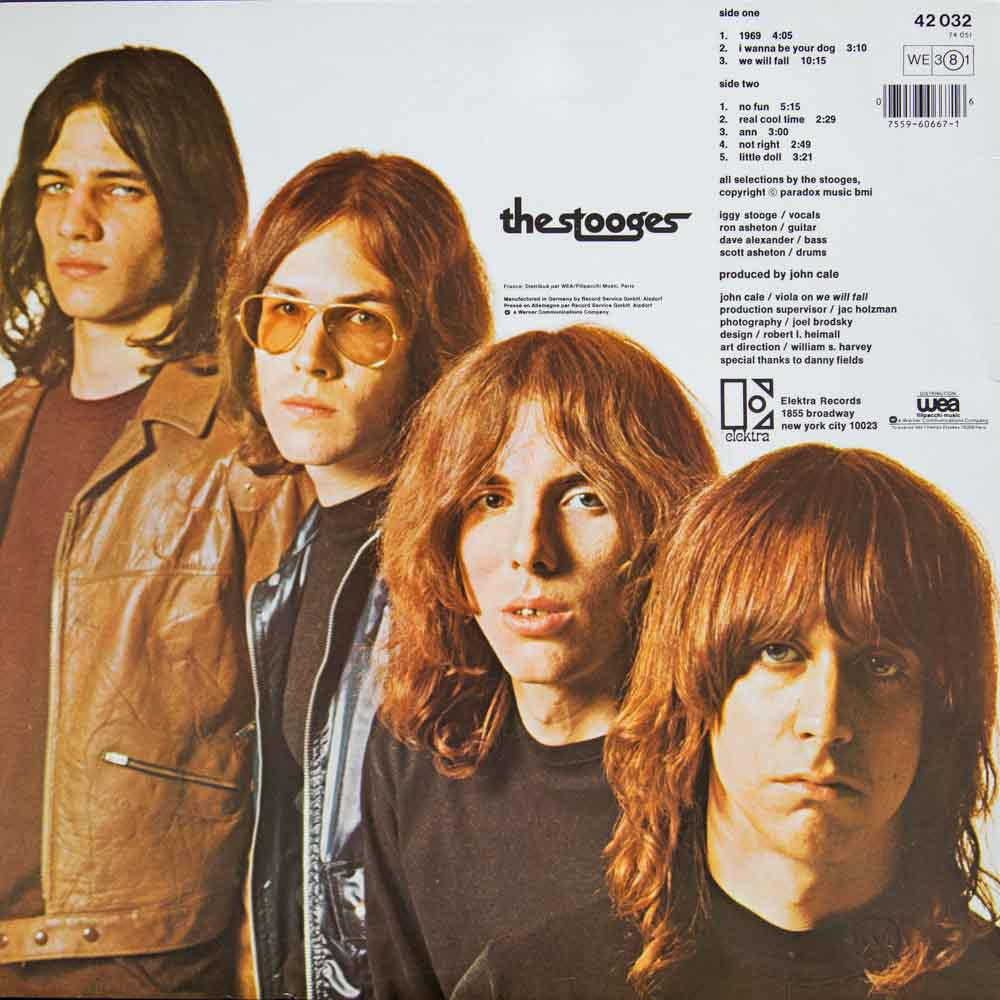 The Stooges - Back Cover