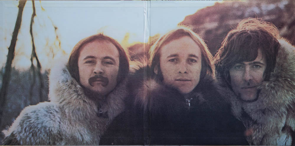Crosby, Stills and Nash, 1969, Cover Innen
