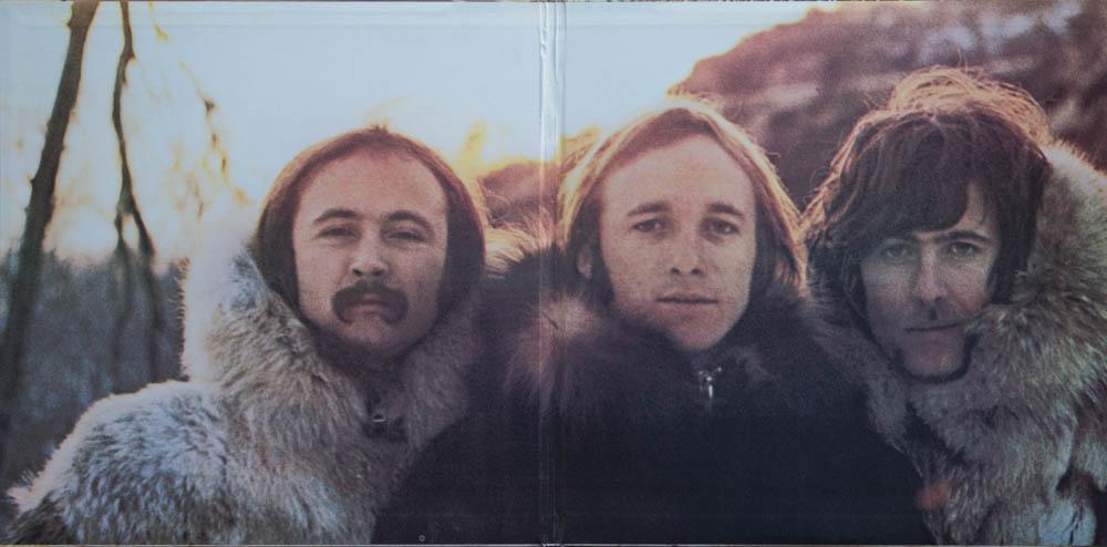 Crosby, Stills and Nash, 1969, Cover Innen