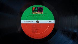 Label Crosby, Stills & Nash, 1969