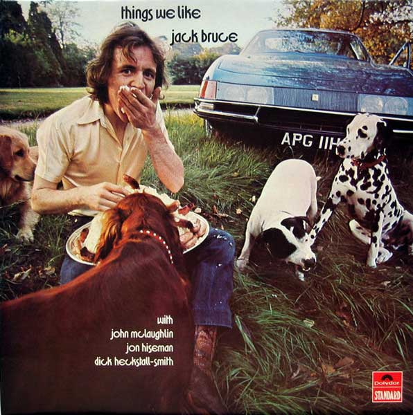 Jack Bruce Things We Like Albumcover