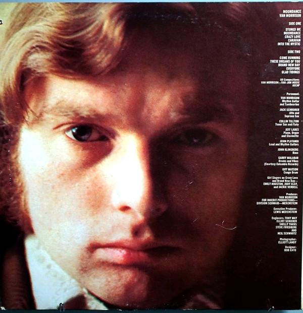 BackCover Moondance Van Morrison