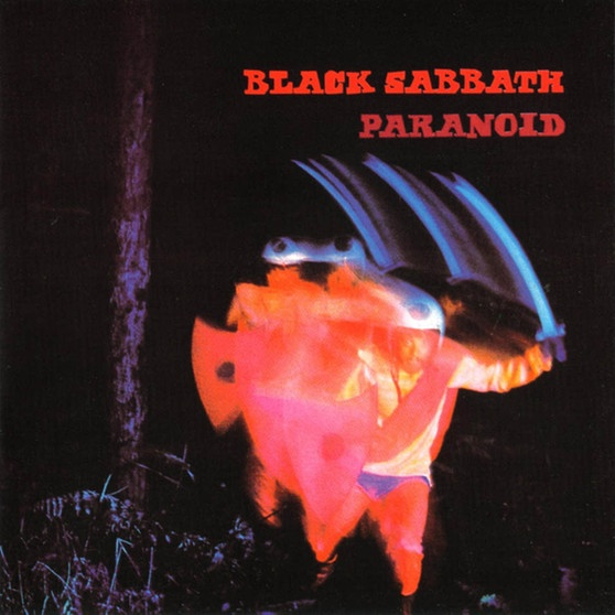 Black Sabbath Paranoid Frontcover