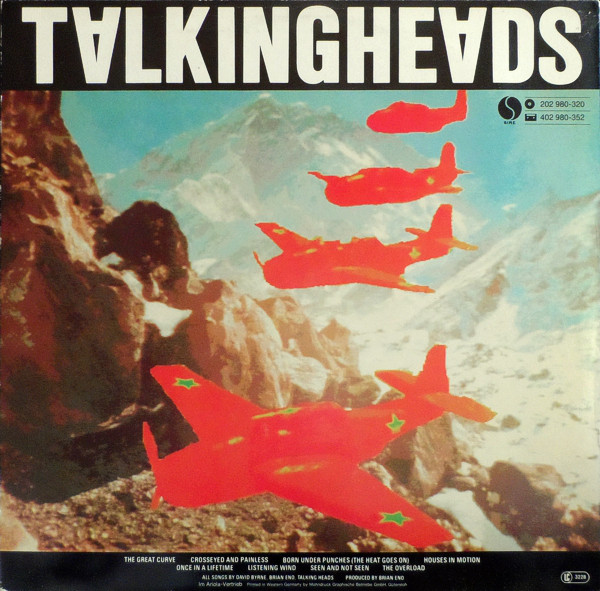 Cover Talking Heads Album Remain In Light Rueckseite