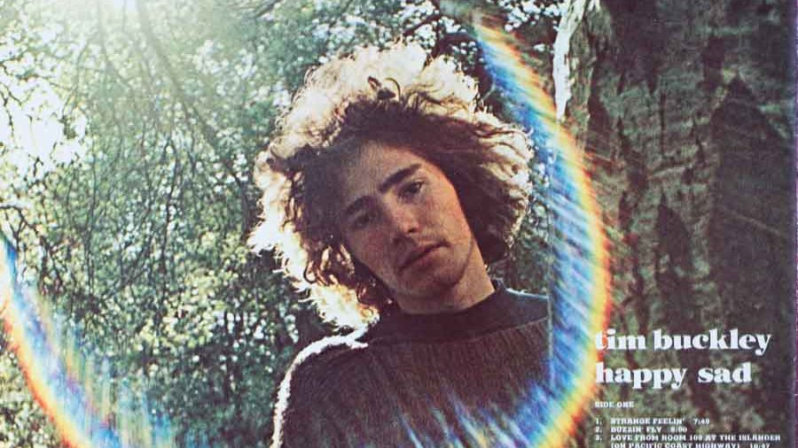 Tim Buckley, Cover Von Happy Sad Backcover