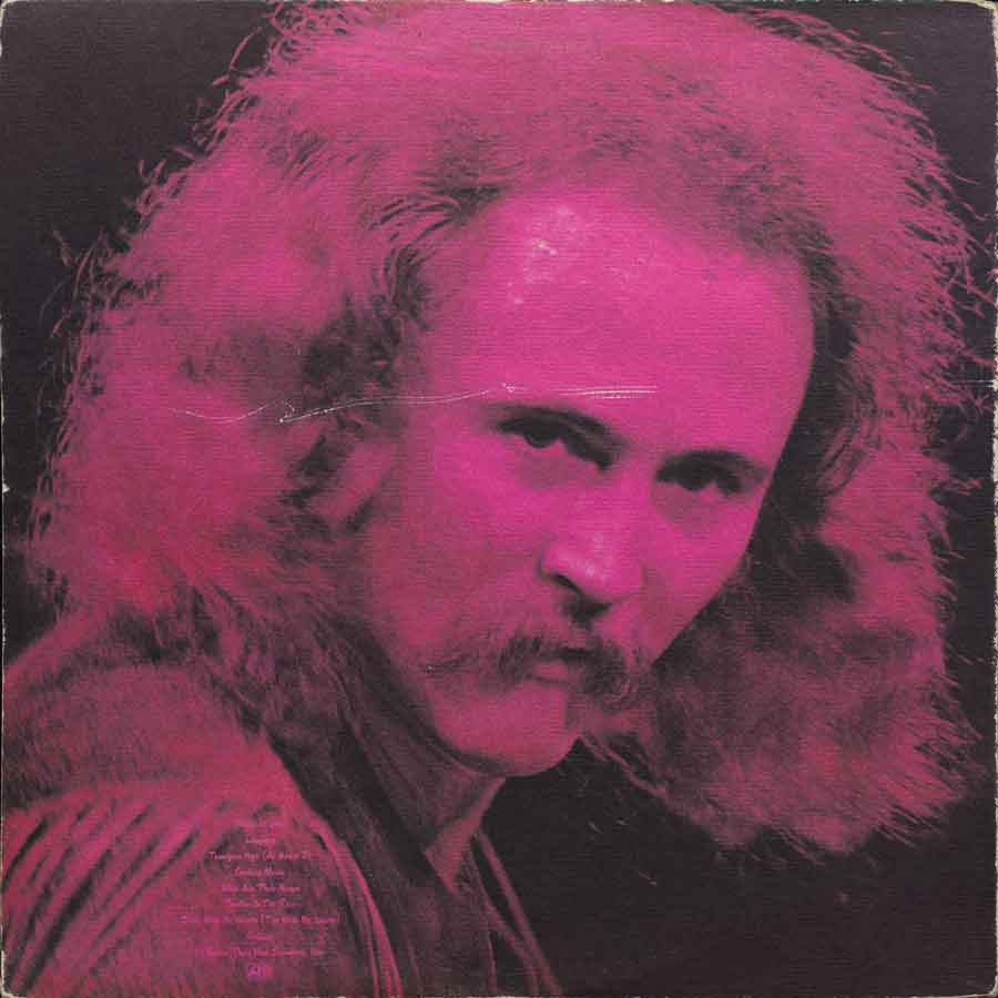 Cover David Crosby Back