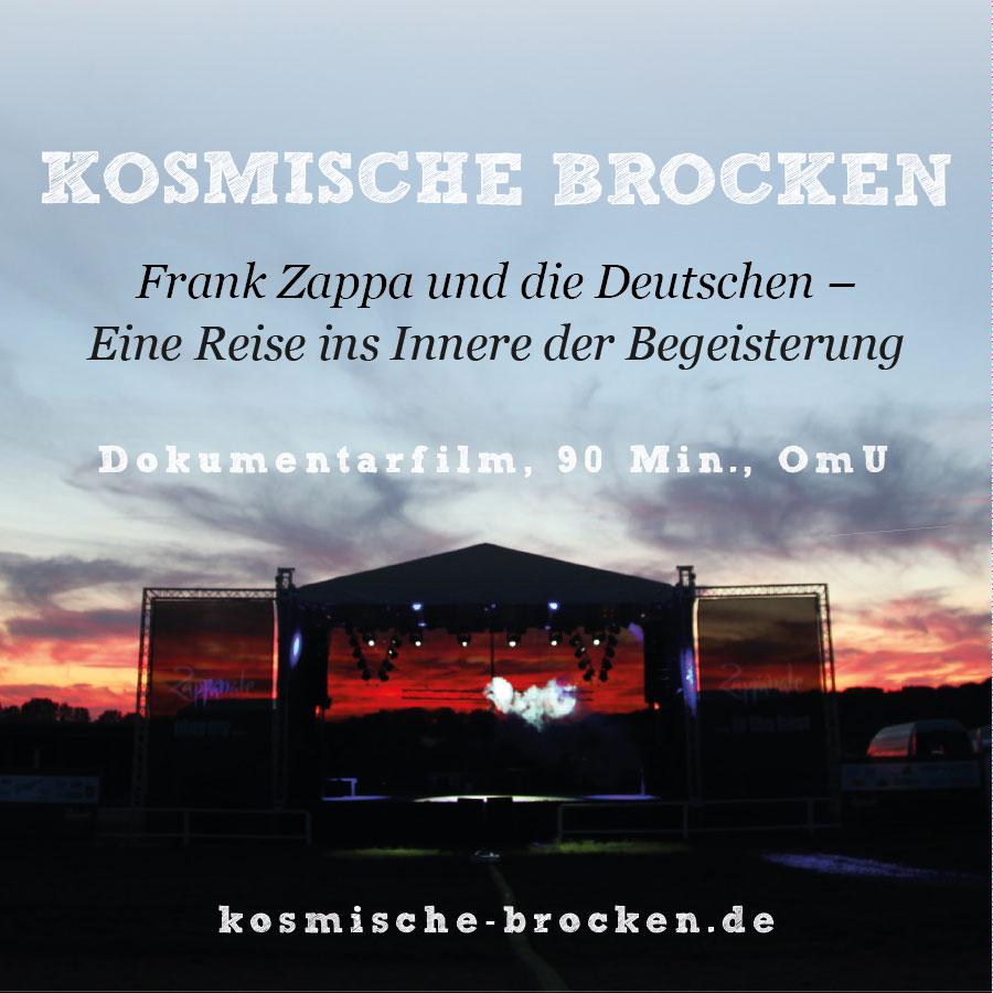 Dokumentarfilm KOSMISCHE BROCKEN