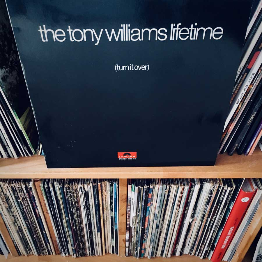The Tony Williams Lifetime - Turn it Over Frontcover