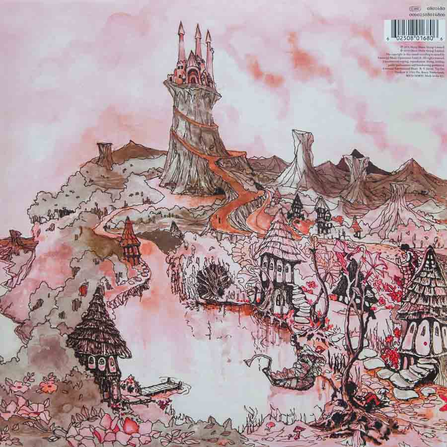 Caravan - In The Land Of Grey And Pink - Backcover