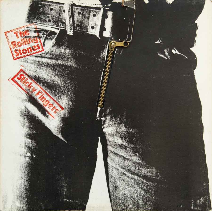 Sticky Fingers Cover Front Closed