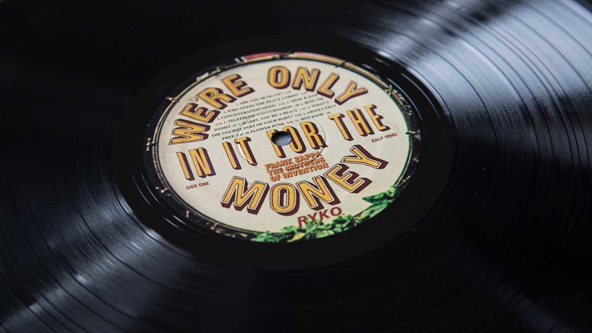 Zappa Money Label Ryko