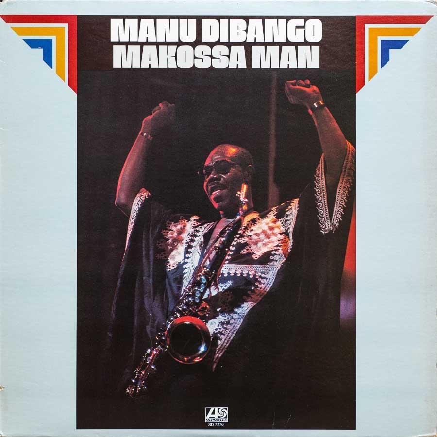 Manu Digango Makossa Man Vinyl Cover
